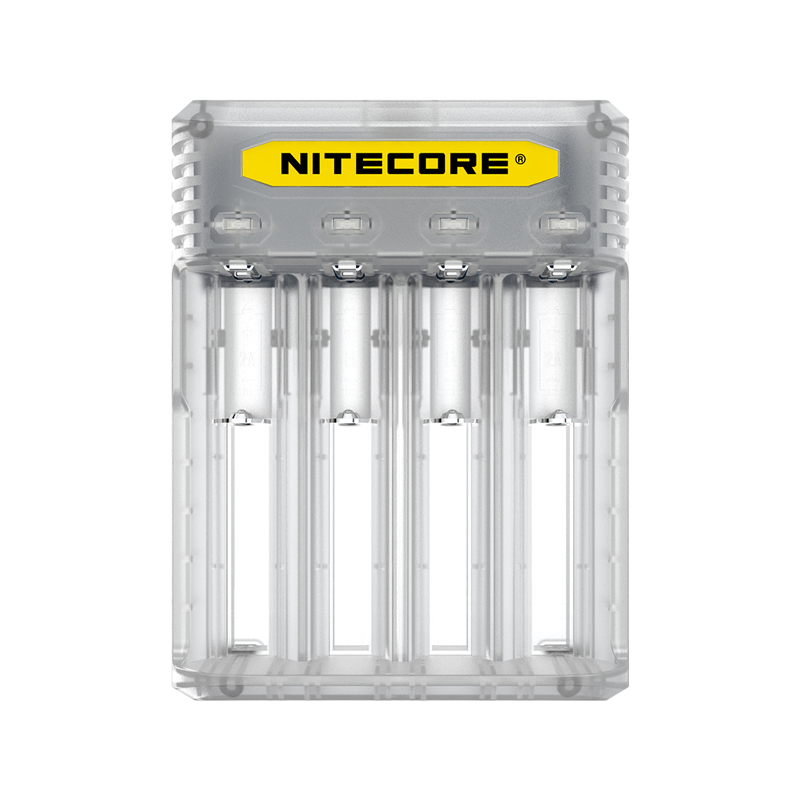 Multifunkční nabíječka baterií - Nitecore Intellicharger Q4 (Lemonade)