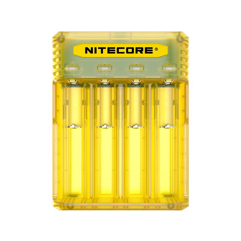 Multifunkční nabíječka baterií - Nitecore Intellicharger Q4 (Juicy Mango)