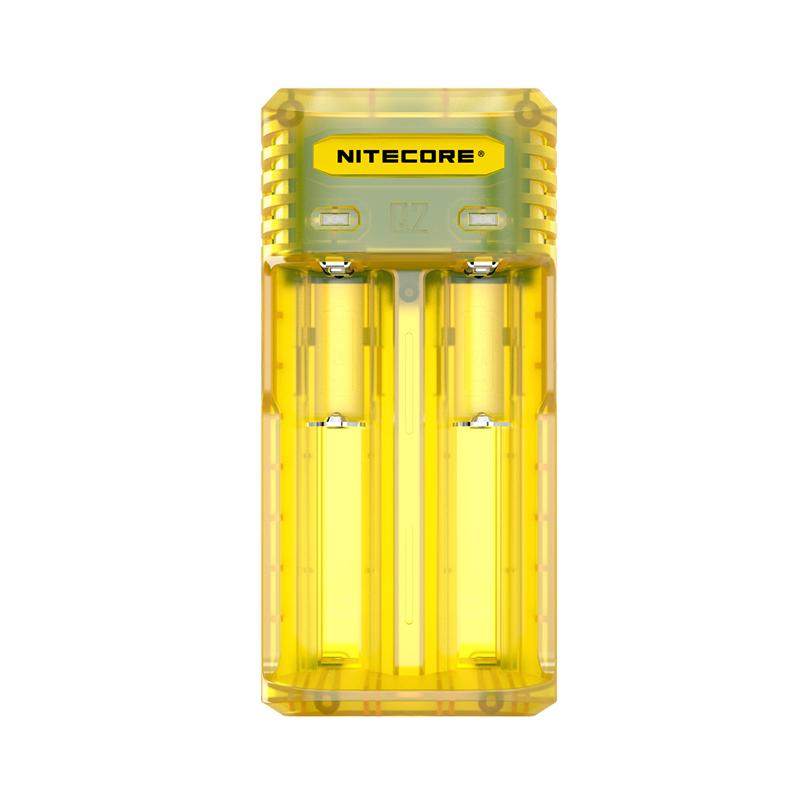 Multifunkční nabíječka baterií - Nitecore Intellicharger Q2 (Juicy Mango)