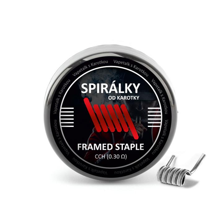 Spirálky od Karotky - CCH Framed Staple 0,3ohm (10ks)