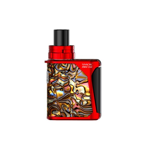 Elektronická cigareta: SMOK Priv One 920mAh (Yellow shell - Red)