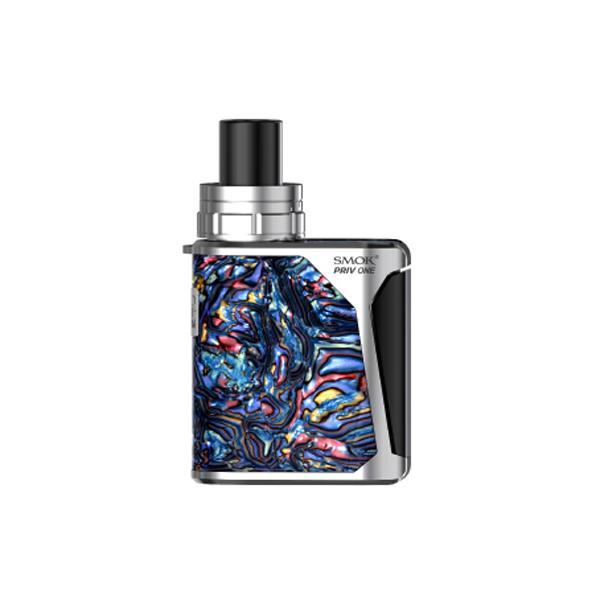 Elektronická cigareta: SMOK Priv One 920mAh (Blue shell - Silver)