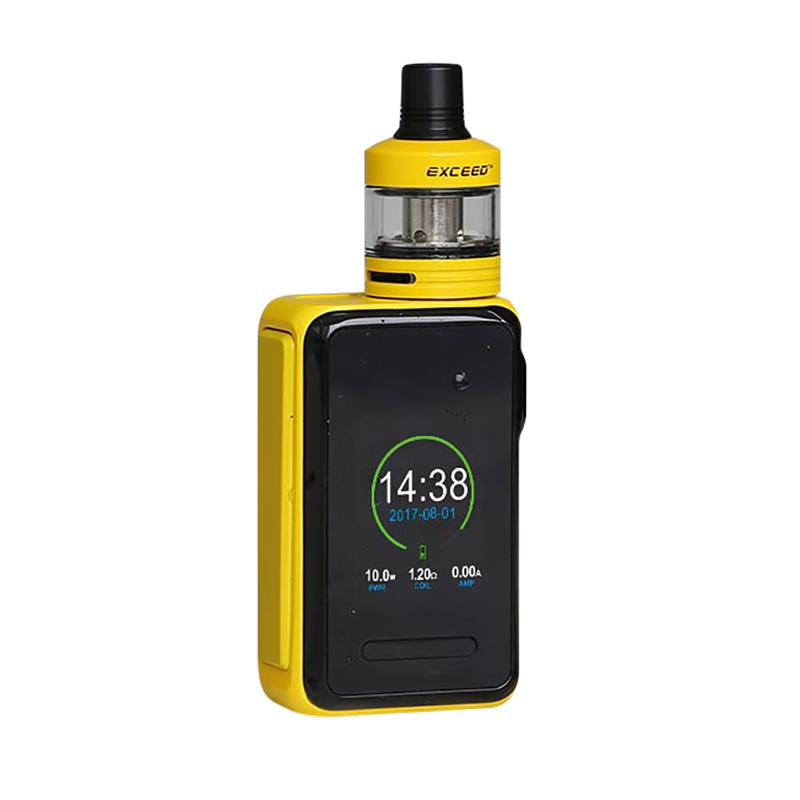 Elektronický grip: Joyetech Cuboid Lite Kit s Exceed D22 (3000mAh) (Žlutý)