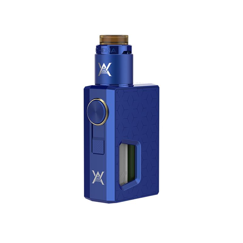 Mechanický grip: GeekVape Athena Squonk Kit s Athena BF RDA (Modrý)