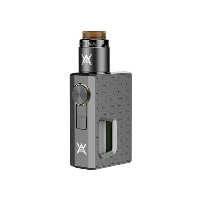 Mechanický grip: GeekVape Athena Squonk Kit s Athena BF RDA (Šedý)