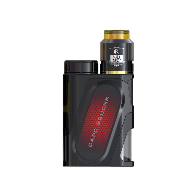 Elektronický grip: IJOY CAPO Squonker Kit s Combo RDA Triangle (Černý)