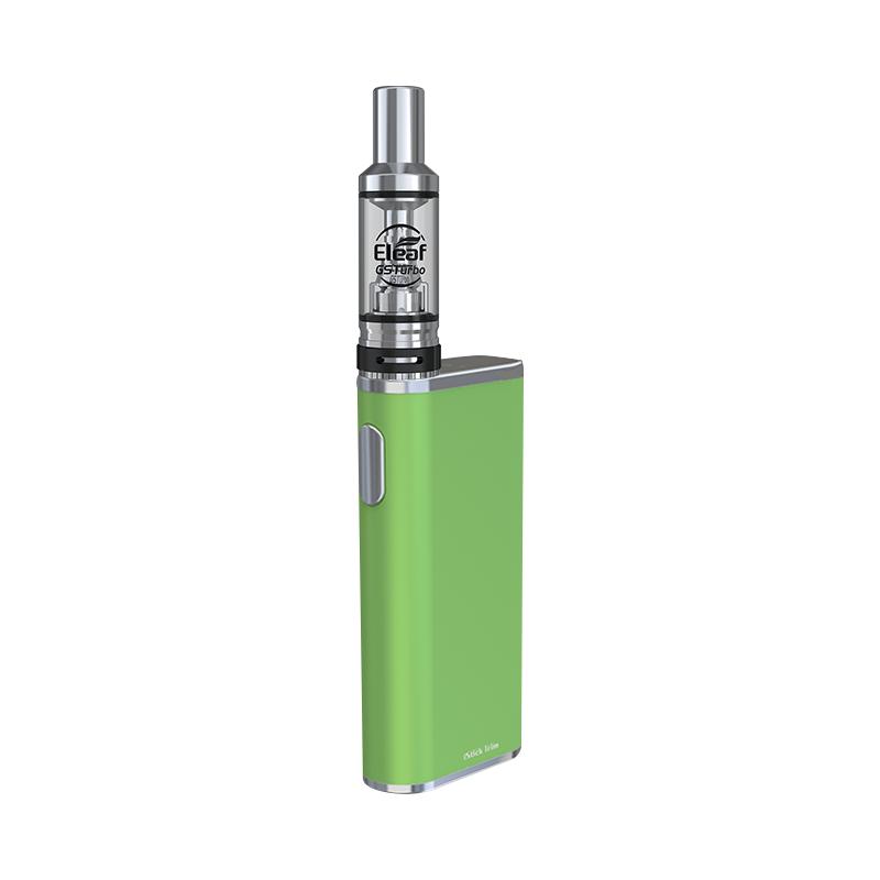 Elektronická cigareta: Eleaf iStick Trim Kit s GSTurbo (1800mAh) (Zelená)