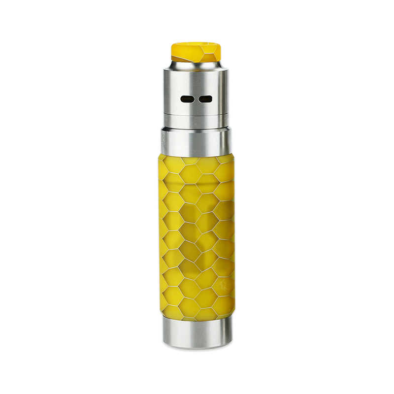Mechanický grip: WISMEC Reuleaux RX Machina Kit s Guillotine RDA (Honeycomb Resin)