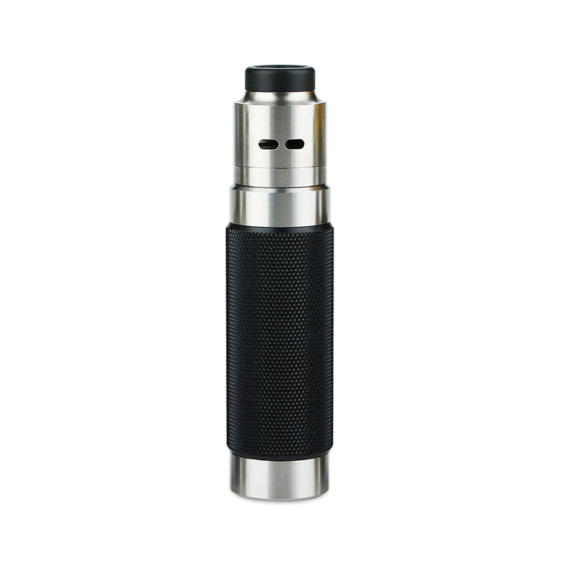 Mechanický grip: WISMEC Reuleaux RX Machina Kit s Guillotine RDA (Knurled Blackout)