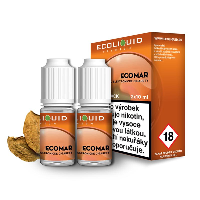E-liquid Ecoliquid Double Pack 2x10ml / 0mg: ECOMAR
