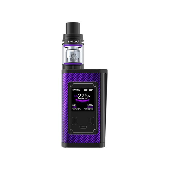 Elektronický grip: SMOK Majesty 225W Kit s TFV8 X-Baby (Carbon Purple)