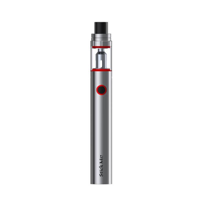 Elektronická cigareta: SMOK Stick M17 AIO (1300mAh) (Stříbrná)