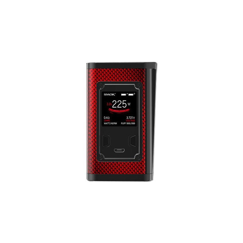 Elektronický grip: SMOK Majesty Mod (Carbon Red)