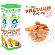 E-liquid: PREMIUM - 30ml / 24mg: MANDLE (Almond)