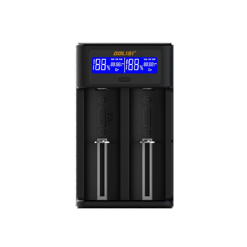 Multifunkční nabíječka baterií - Golisi I2 (2A) (Černá)