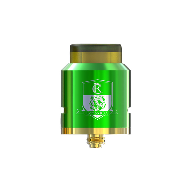 RDA atomizér IJOY COMBO Triangle (Zelený)