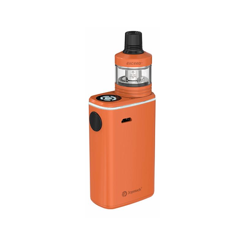Elektronická cigareta: Joyetech Exceed BOX D22C Kit (3000mAh) (Oranžová)