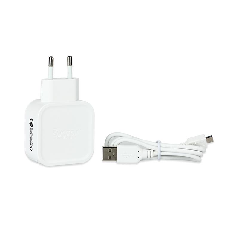Rychlonabíječka Avatar USB QC2.0 Quick Charger (Bílá)