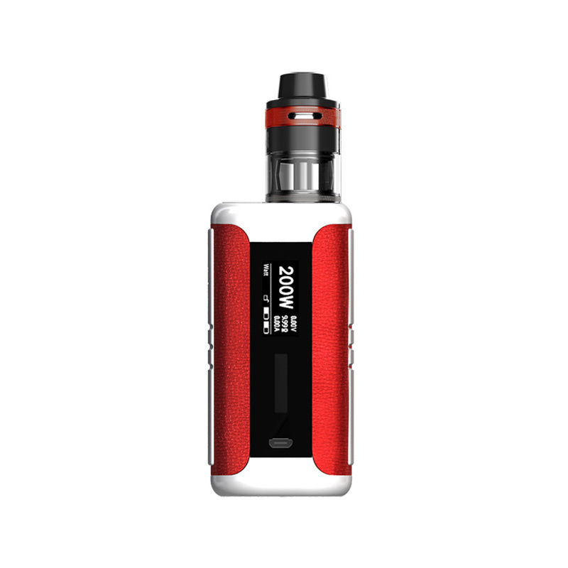 Elektronický grip: Aspire Speeder Revvo Kit (Red Leather)