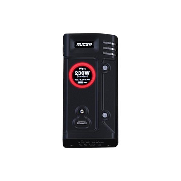 Elektronický grip: Think Vape Ruger 230W Mod (Černý)