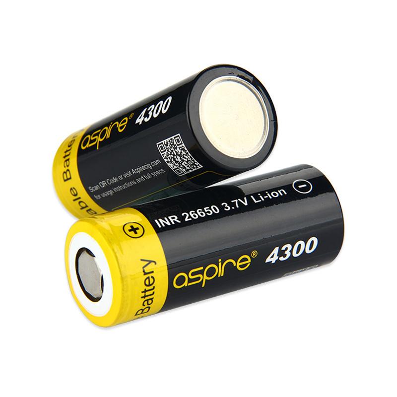 Baterie Aspire INR 26650 - 40A (4300mAh)