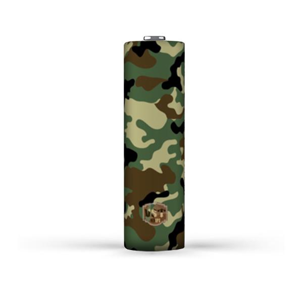 Smršťovací folie pro baterie 20700 (Jungle Camo)