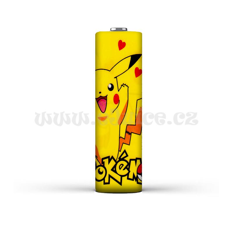 Smršťovací folie pro baterie 18650 s potiskem (Pokémon)