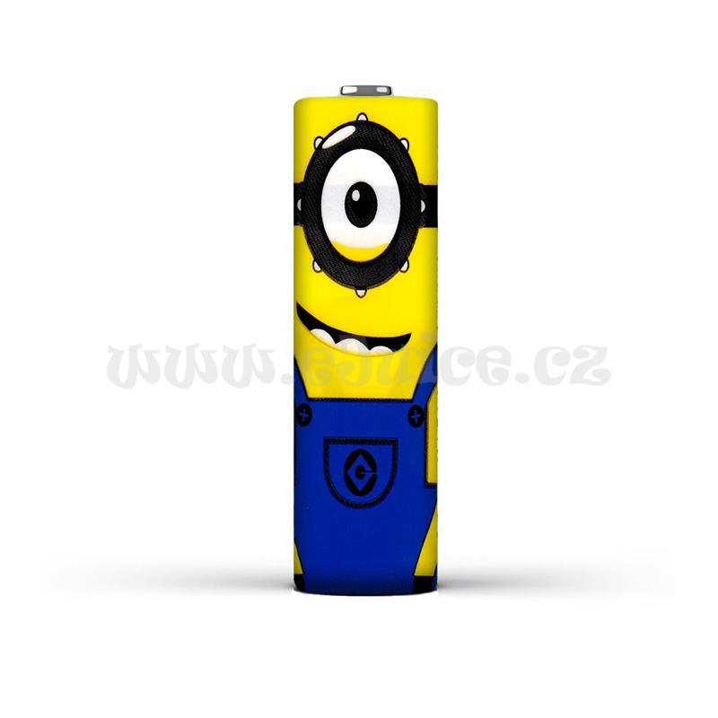 Smršťovací folie pro baterie 18650 s potiskem (Minions)