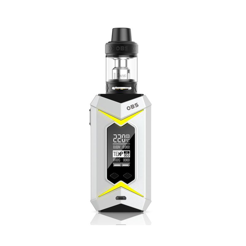 Elektronický grip: OBS Bat 218W Kit s Damo (Bílý)