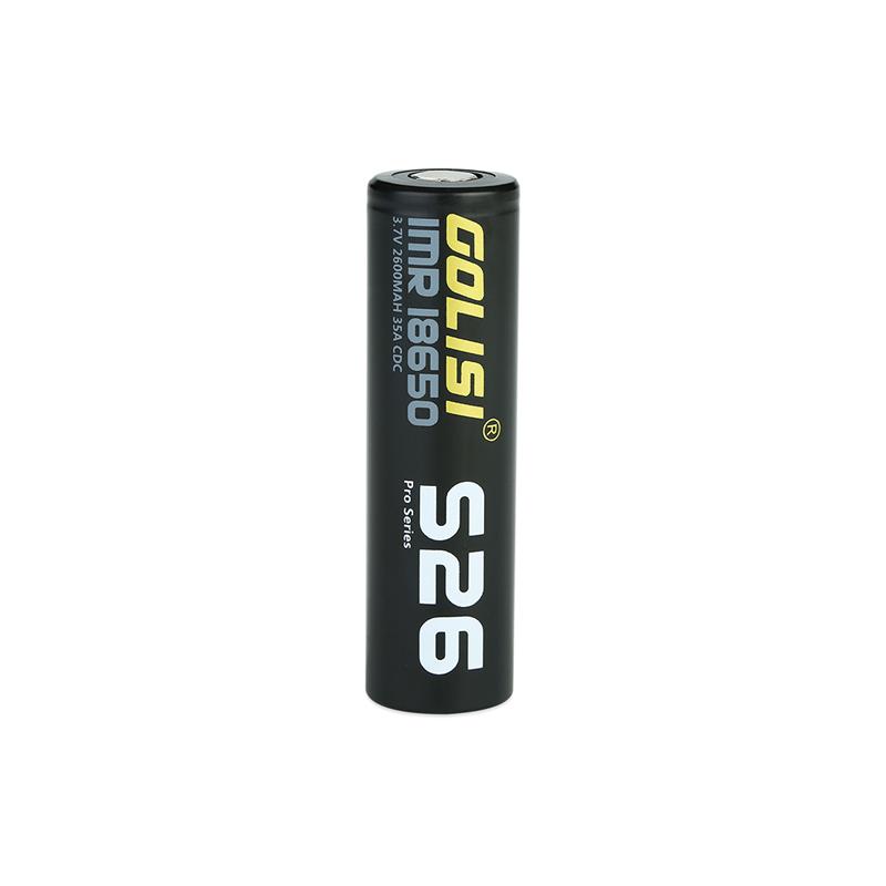 Baterie Golisi S26 IMR 18650 / 35A (2600mAh)