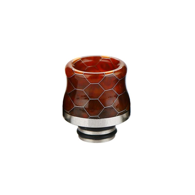 Resinový náustek Snakeskin 510 (B - Oranžový)