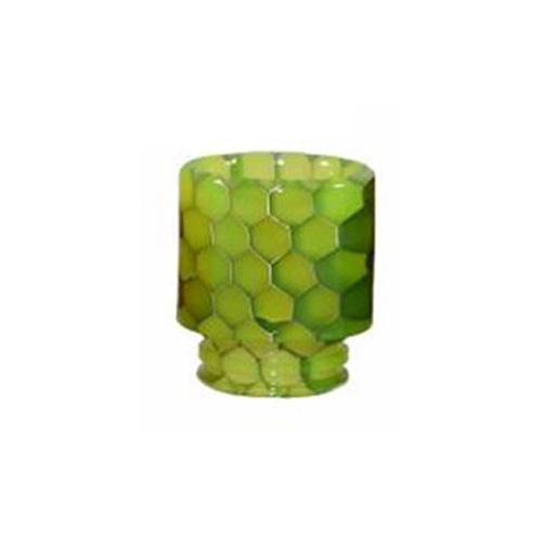 Resinový náustek 510 Snake Skin Drip Tip (Lime Green)