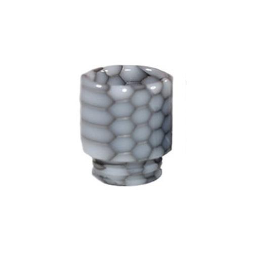Resinový náustek 510 Snake Skin Drip Tip (Black & White)