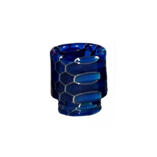 Resinový náustek 510 Snake Skin Drip Tip (Dark Blue)
