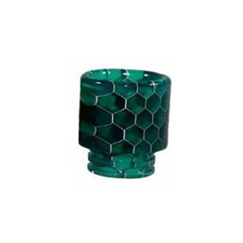 Resinový náustek 510 Snake Skin Drip Tip (Green)
