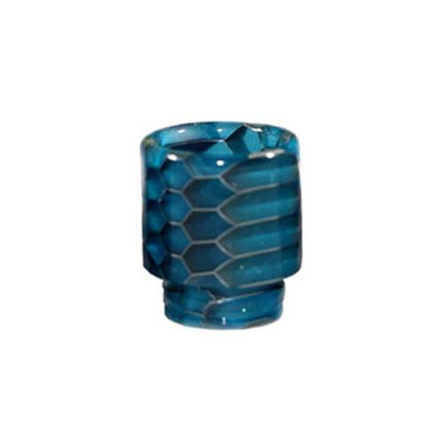 Resinový náustek 510 Snake Skin Drip Tip (Light Blue)