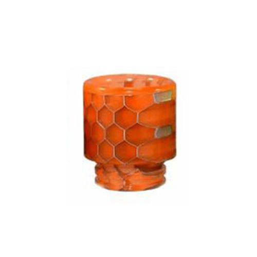 Resinový náustek 510 Snake Skin Drip Tip (Orange)