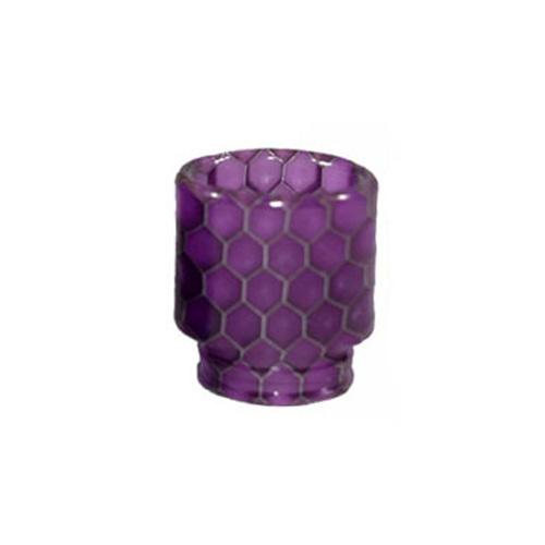Resinový náustek 510 Snake Skin Drip Tip (Purple)