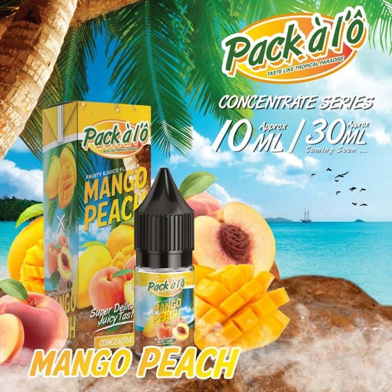 Příchuť Pack ALO: Mango Peach (Mango s broskví) 10ml