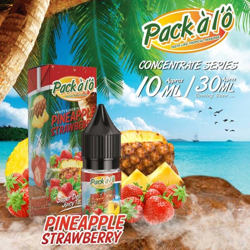 Příchuť Pack ALO: Pineapple Strawberry (Ananas s jahodami) 10ml