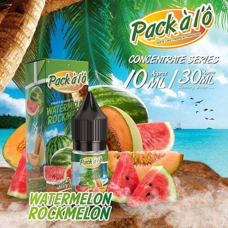 Příchuť Pack ALO: Watermelon Rockmelon (Melounový mix) 10ml