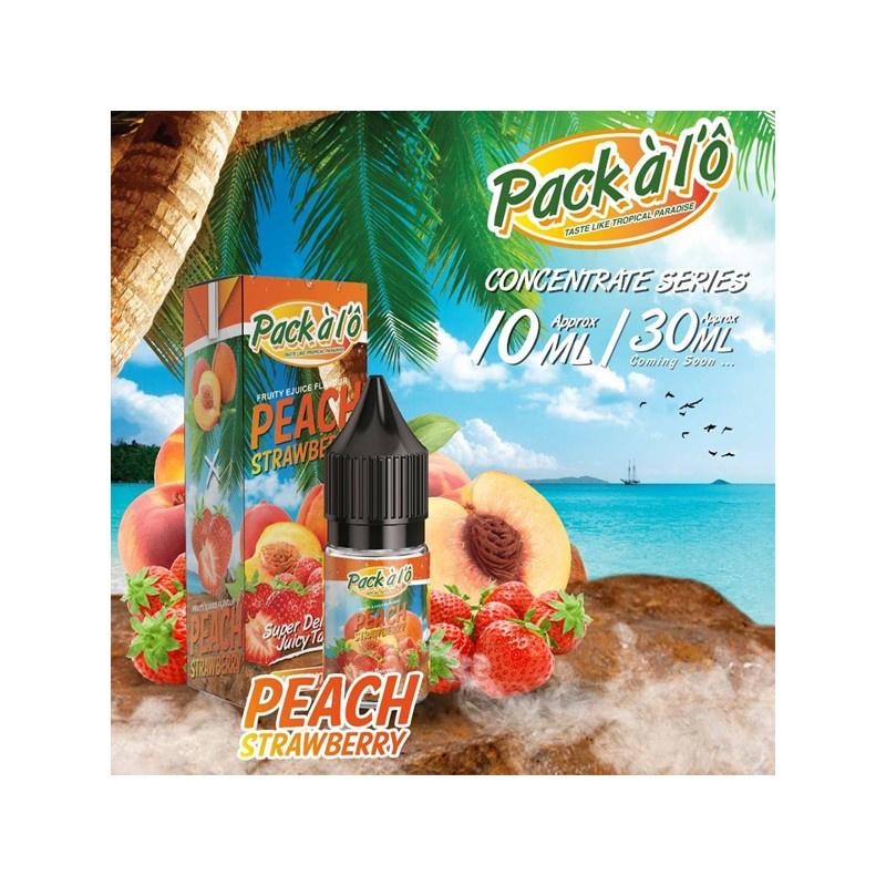 Příchuť Pack ALO: Peach Strawberry (Broskev s jahodami) 10ml