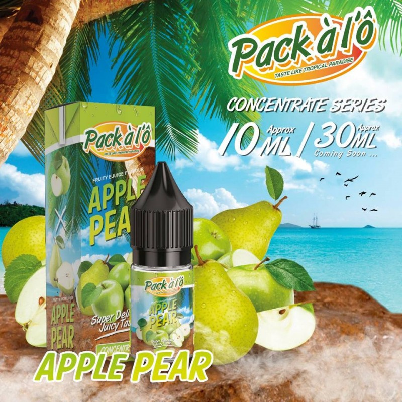 Příchuť Pack ALO: Apple Pear (Jablka s hruškami) 10ml