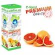 E-liquid: PREMIUM - 10ml / 24mg: GREPFRUIT (Grapefruit)