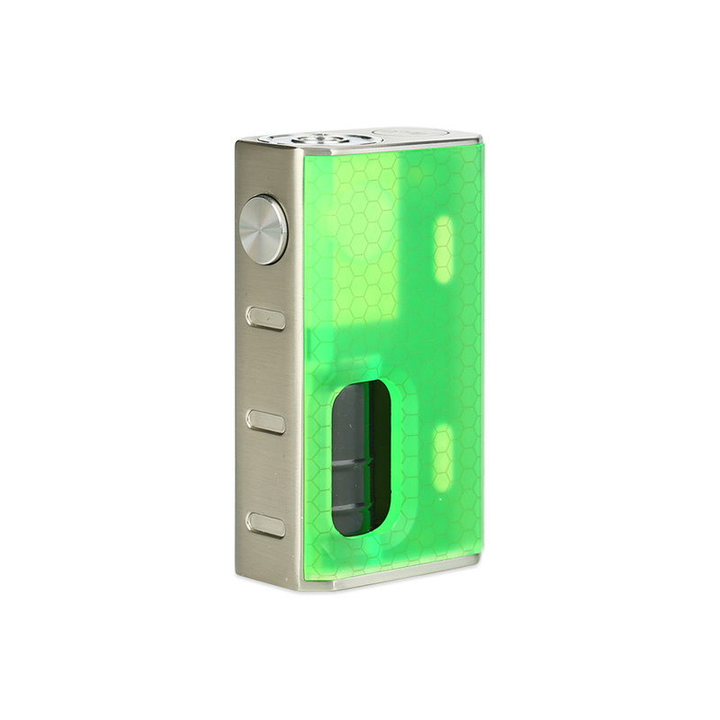 Mechanický grip: WISMEC Luxotic BF Box Mod (Green Honeycomb)