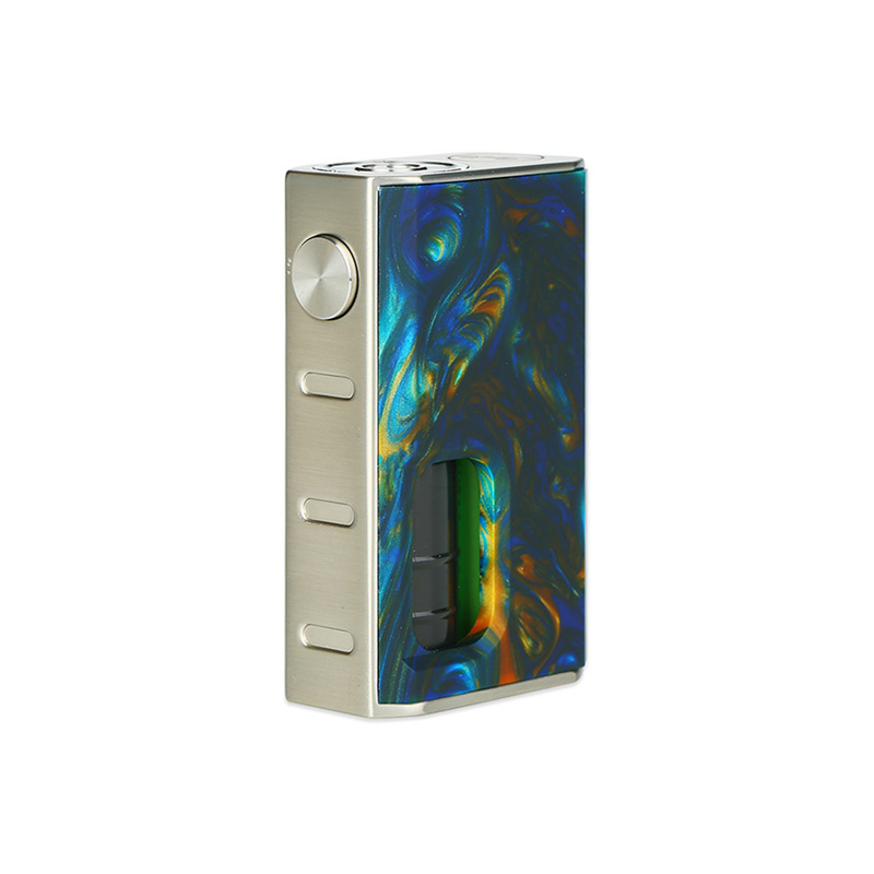 Mechanický grip: WISMEC Luxotic BF Box Mod (Swirled Metallic Resin)