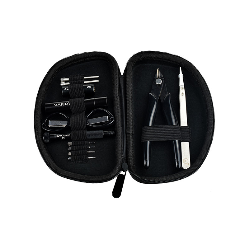 Sada nástrojů pro DIY - Vandy Vape Tool Kit Pro (12-dílná)