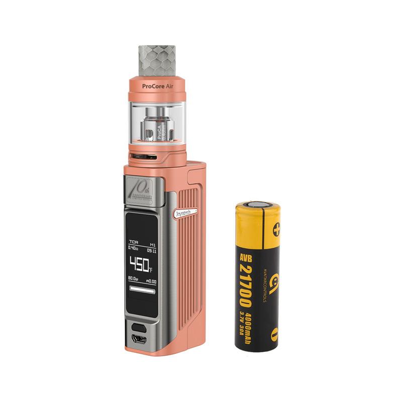 Elektronický grip: Joyetech ESPION Solo Kit s ProCore Air (Růžový)