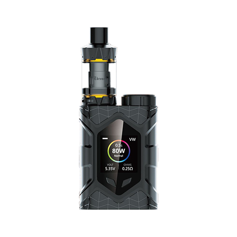 Elektronický grip: Vaptio Wall Crawler Kit s Throne Tank (Černý)