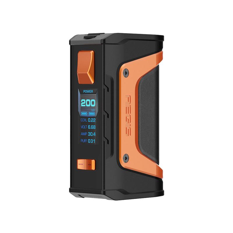 Elektronický grip: GeekVape Aegis Legend Mod (Black & Orange)
